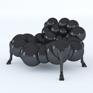 mad cow sofa 3d model
