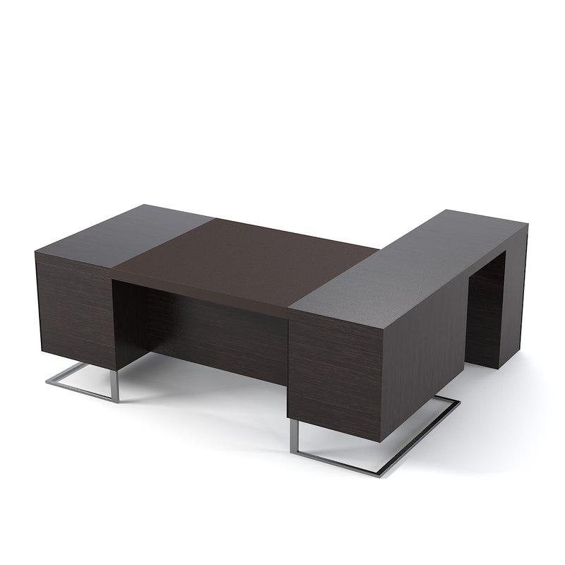 3dsmax deck-leader-excecutive-desk-large-desk modern