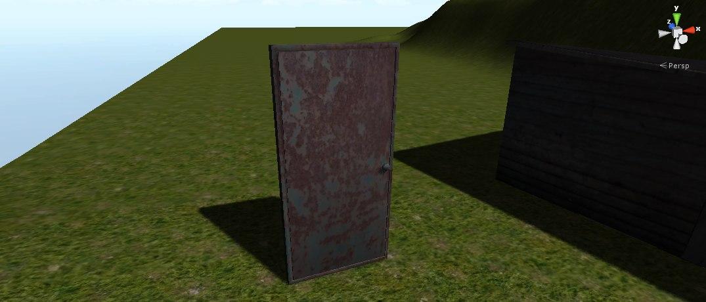 free 3ds model door ready