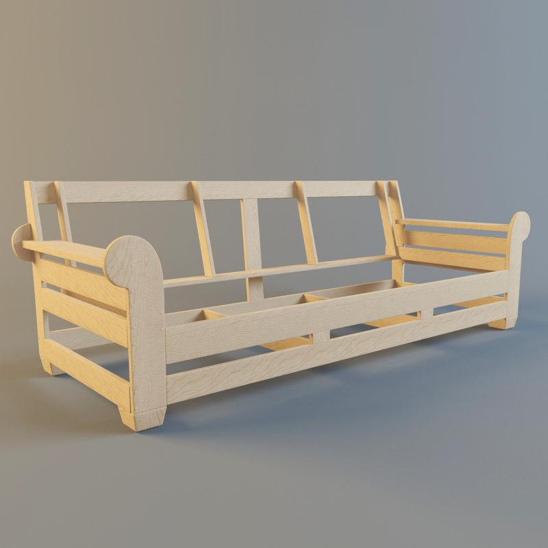 Sofa Frame Model