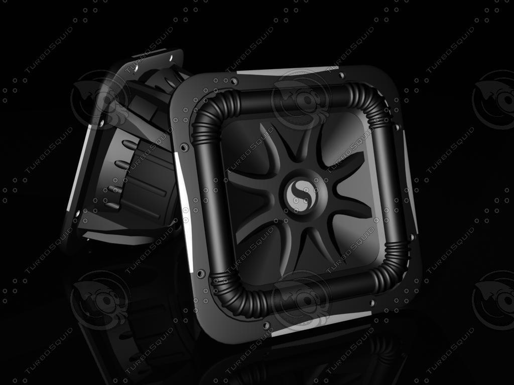 3d kicker speakers