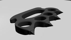 maya knuckle-duster