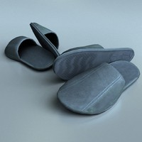 Slippers low poly