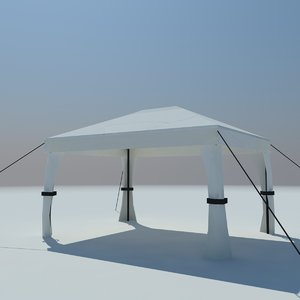 3d model marquee
