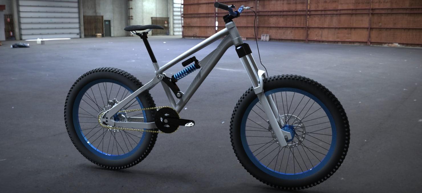 mountain bike 3d model