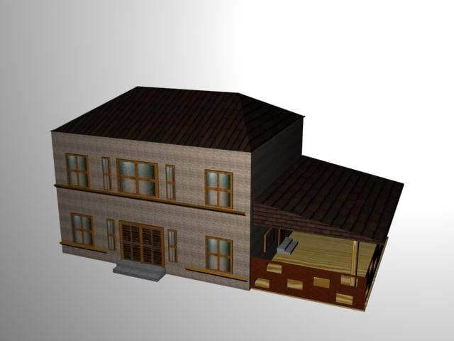 3d model vestern