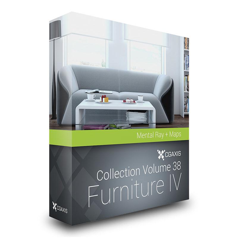 3ds max volume 38 furniture iv