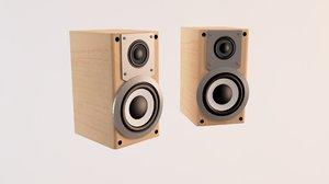 hi-fi speakers 3d 3ds