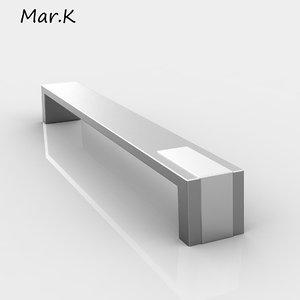 handle intra 3d model