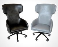 boss armchair 3d model