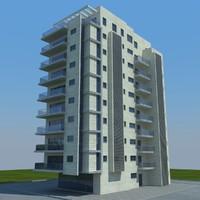 3d model buildings 2 5