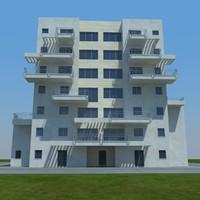 buildings 8 1 3d model