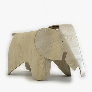 3d eames elephant model