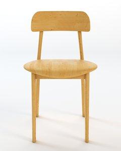 bambi chair 3d model