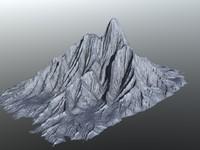 3d model peak