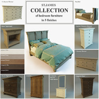 ST.James Collection of bedroom furniture