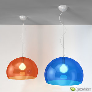 3d model fl y pendant lamp
