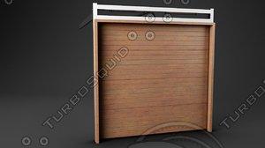 3d sectional garage doors