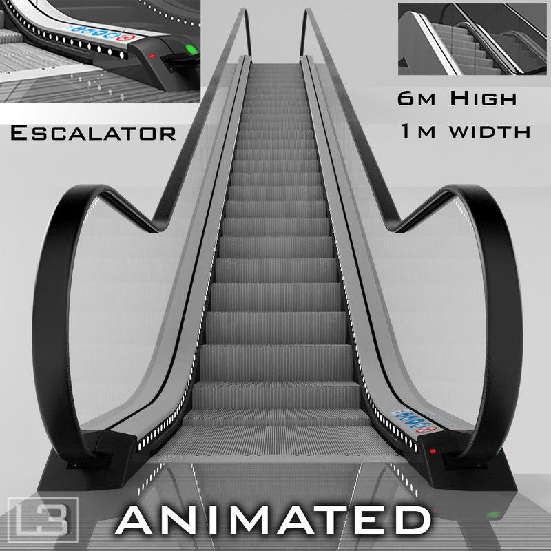 escalator 6m max