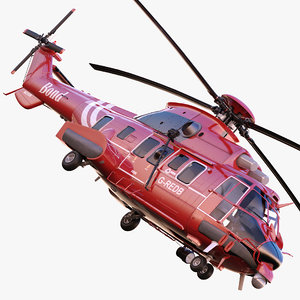bond offshore helicopters as332l2 3d fbx