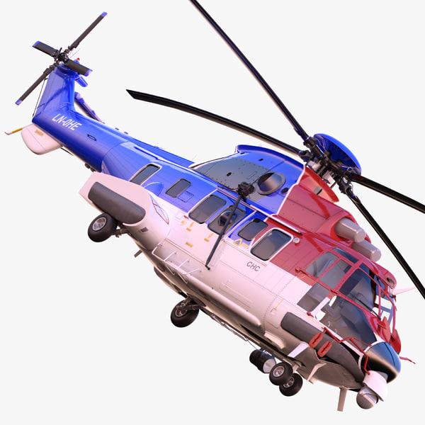 eurocopter as332l2 super puma max