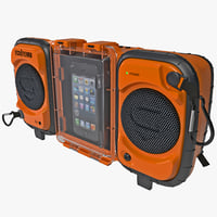 Iphone 5 and Stereo Boombox ECOXGEAR