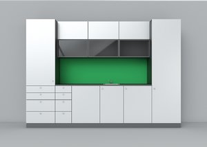simple kitchen 3d model