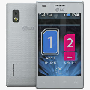 3d model lg optimus l5 dual