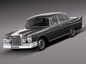3d 1961 mercedes mercedes-benz model