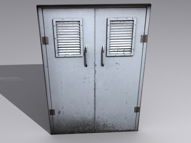 Captivating 3ds Max Factory Door