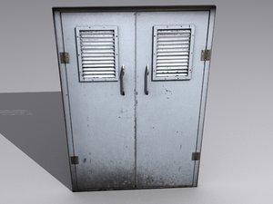 3ds max factory door