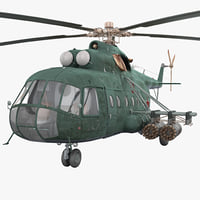 Soviet Transport Helicopter Mil Mi-8 2