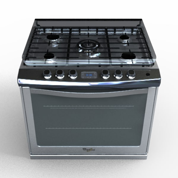 we9620s stove 3d model