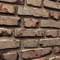 3d brick wall 03 model