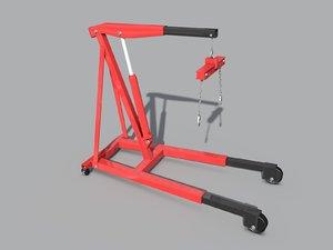 3d model engine lift