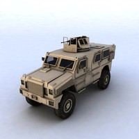 3ds max rg-33 vehicle