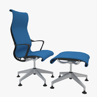 herman miller setu lounge 3d 3ds
