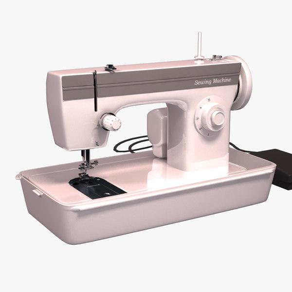 3ds sewing machine