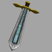 Runed Broadsword
