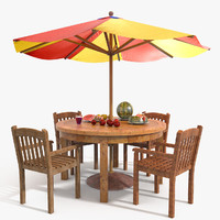 Beach Sun Umbrella Table Bar