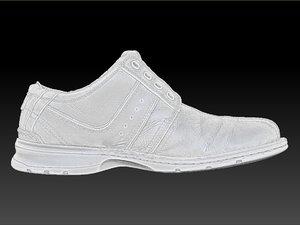 scan clarks dress shoe 3d model
