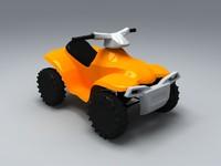 toy atv 3d model