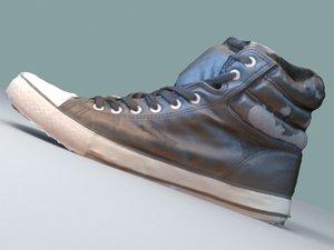 trainers shoes 3d model