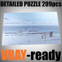 Puzzle (209 pieces)