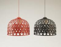 3d bamboo chandelier