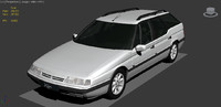 citroen xm break 3d model
