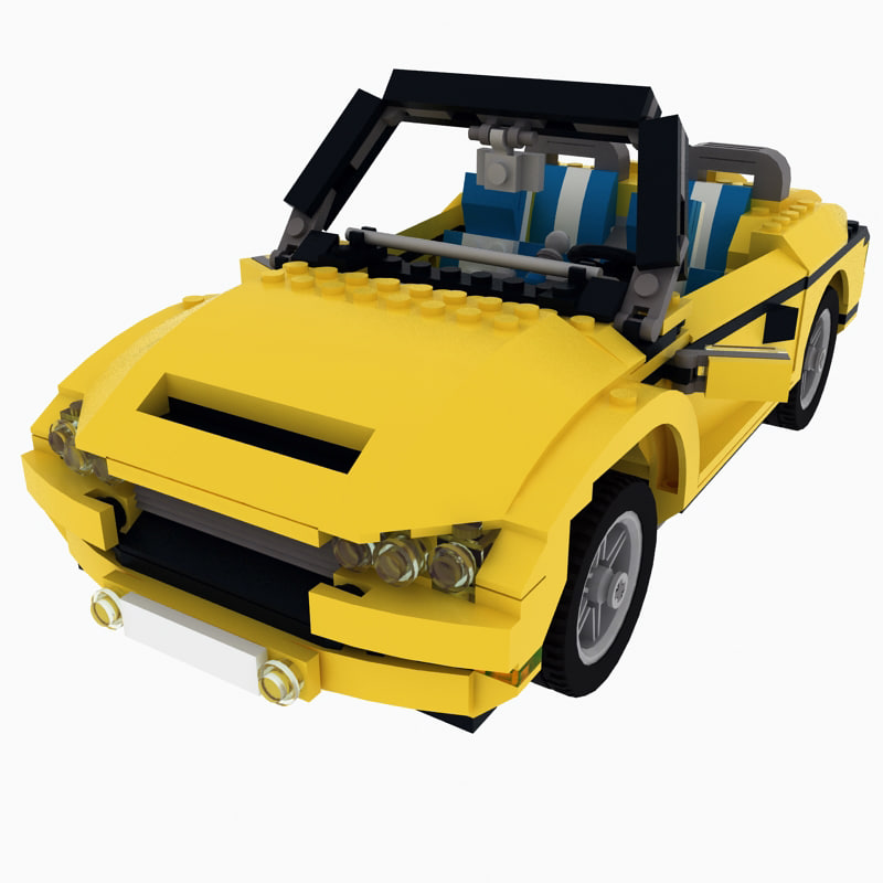 3ds max cool cruiser lego