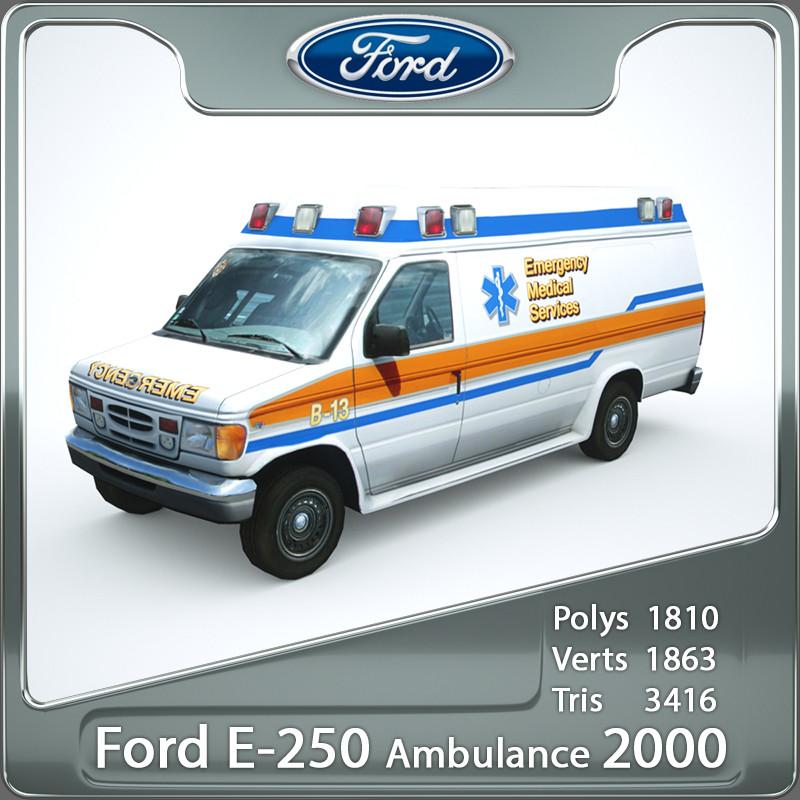 3ds 2000 ambulance