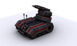 tanks future 3d max