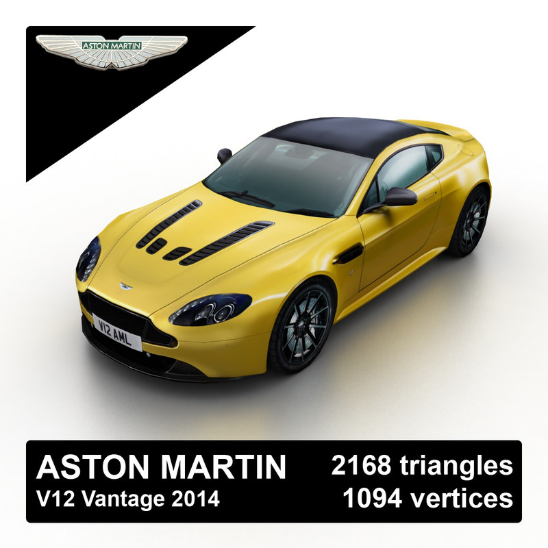 3d 2014 aston martin v12